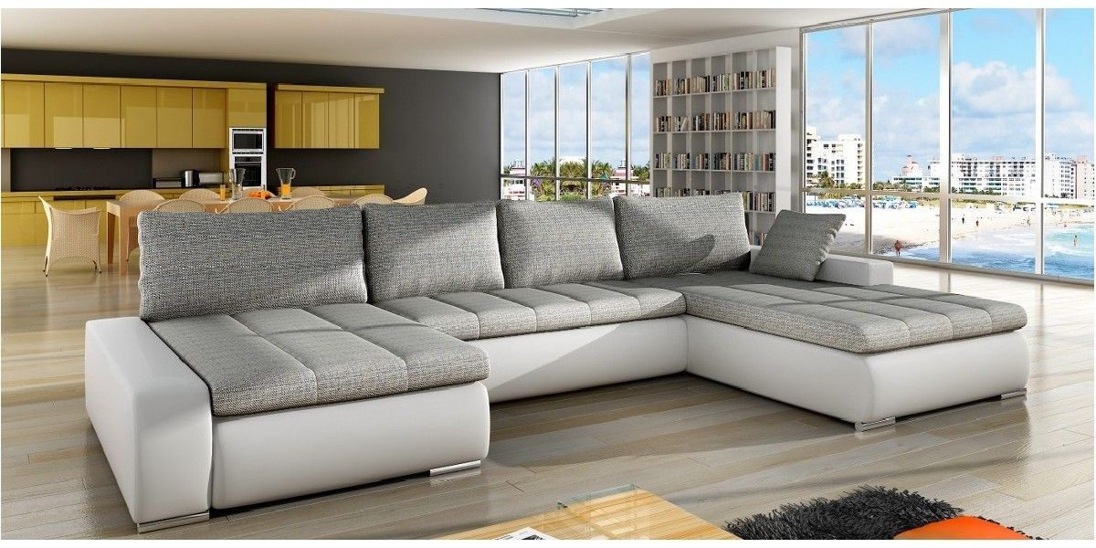 1 personers sofa med chaiselong table on wheels manaya grande u-sofa er en enkel, stilren