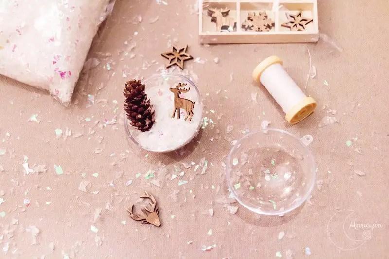 Décoration de Noël fait-main sapin