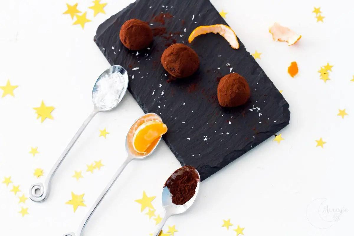 Mes recettes de truffes au chocolat pour Noël