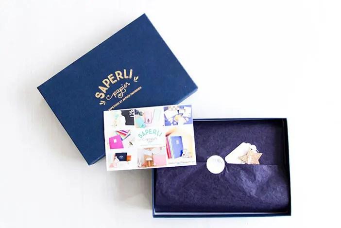 Saperlipapier – la box «Poussière d'étoiles»