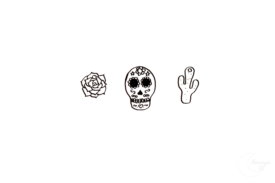 Motifs DIY collier inspiration Frida Kahlo