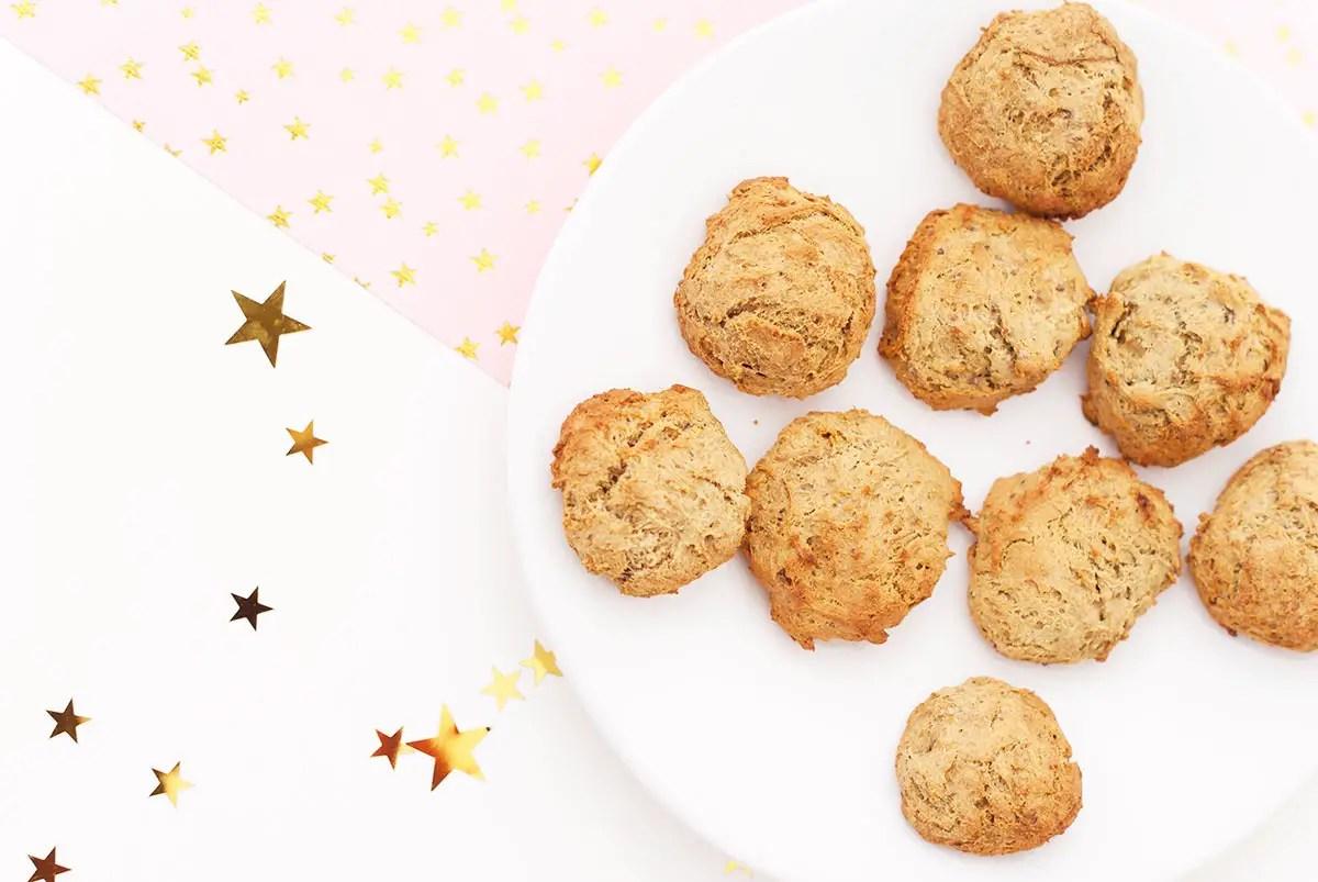 Biscuits à la banane : une recette sans gluten et sucre raffiné