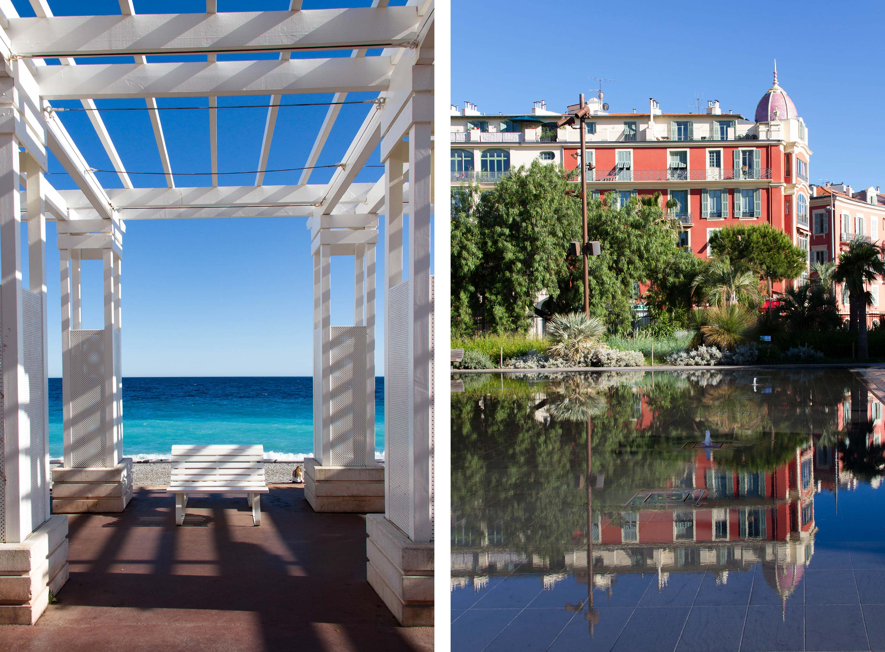 Promenade des Anglais - Promenade du Paillon - Nice