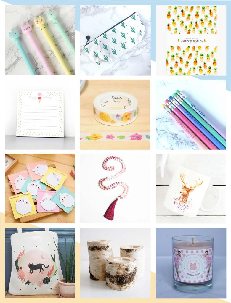 Wishlist Etsy + Back to school