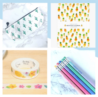 Wishlist Etsy # Août + sélection «Back to school» graphic