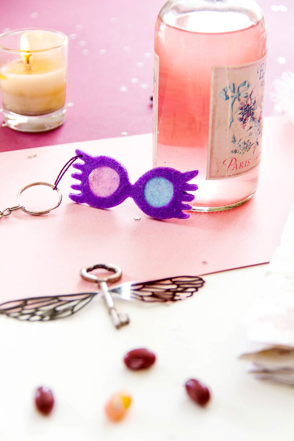 DIY porte-clés Harry Potter