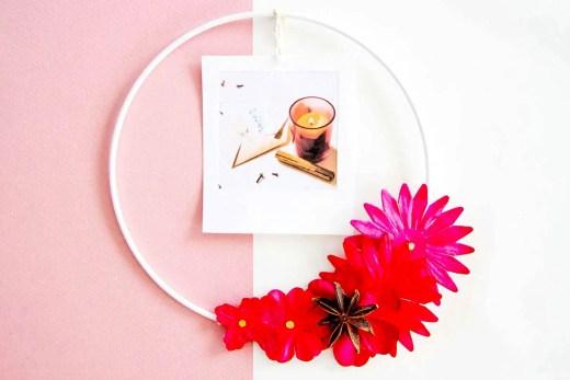 DIY automne : porte-photo