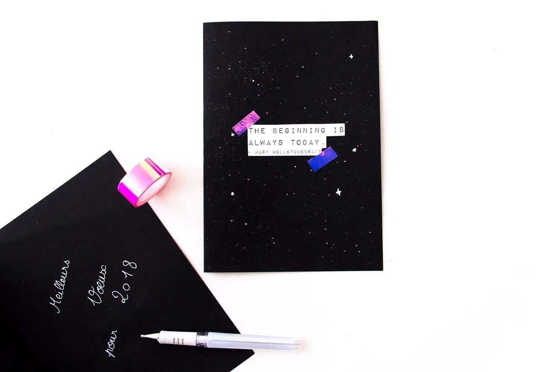 DIY cartes de voeux