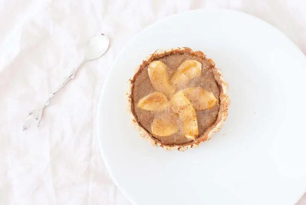Recette de tarte aux pommes – sans gluten