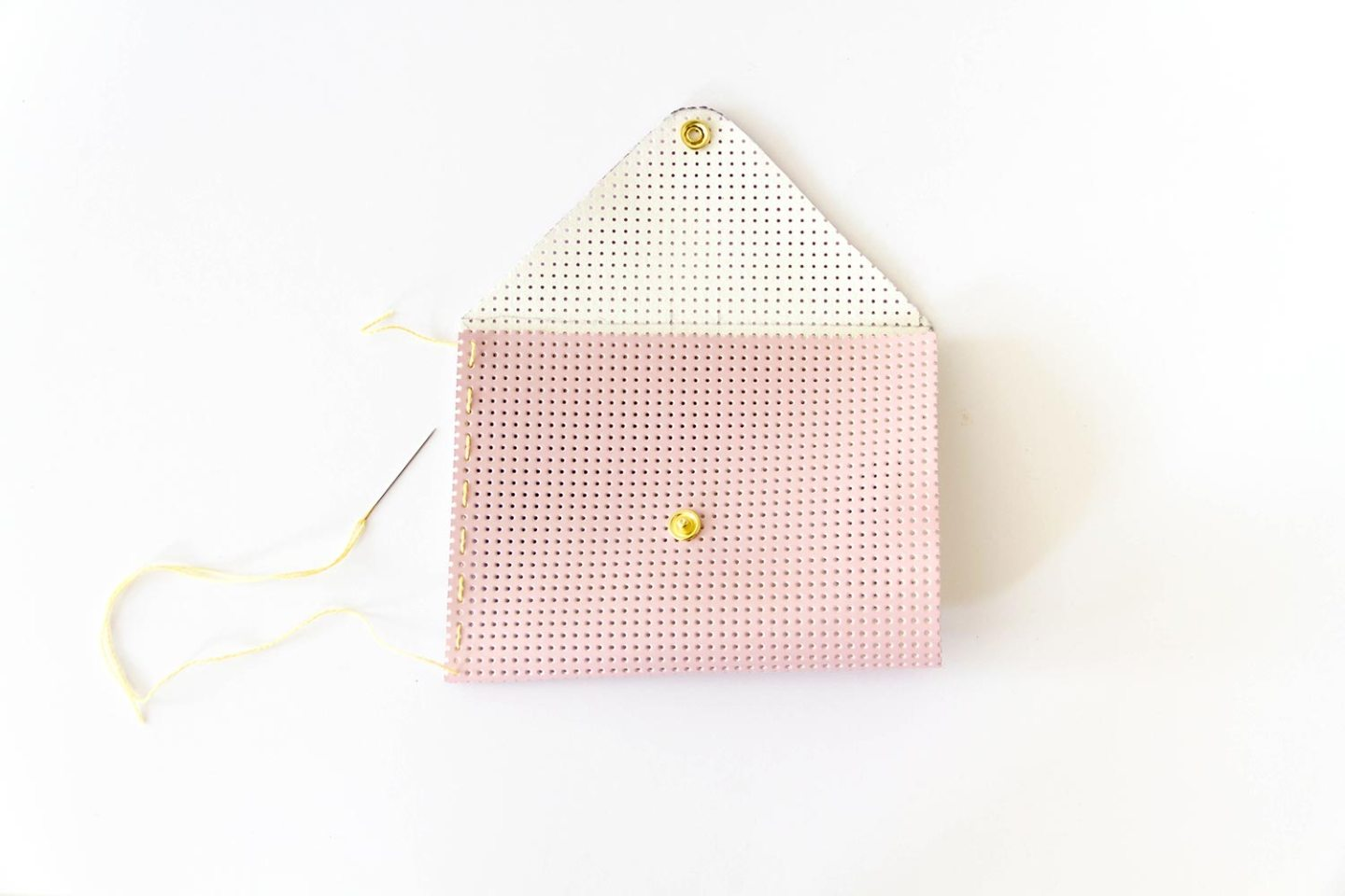 DIY pochette ananas personnalisable