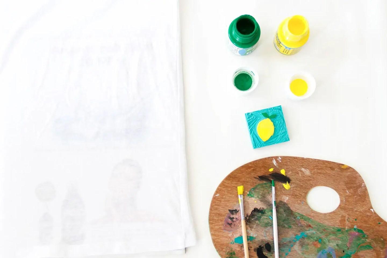 DIY tee-shirt citrons : comment customiser un tee-shirt facilement