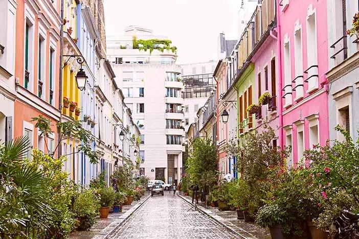 Une balade à... Paris, dans la rue Crémieux et le passage Lhomme !