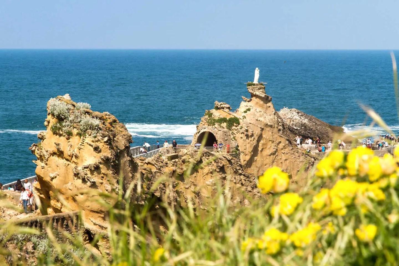 Pays Basque - Biarritz - Rocher de la Vierge