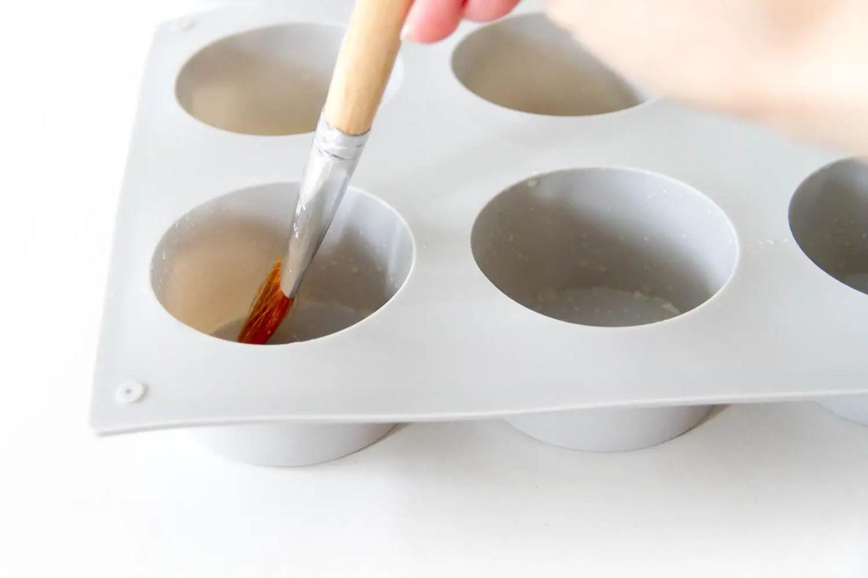 DIY sous-verres en béton