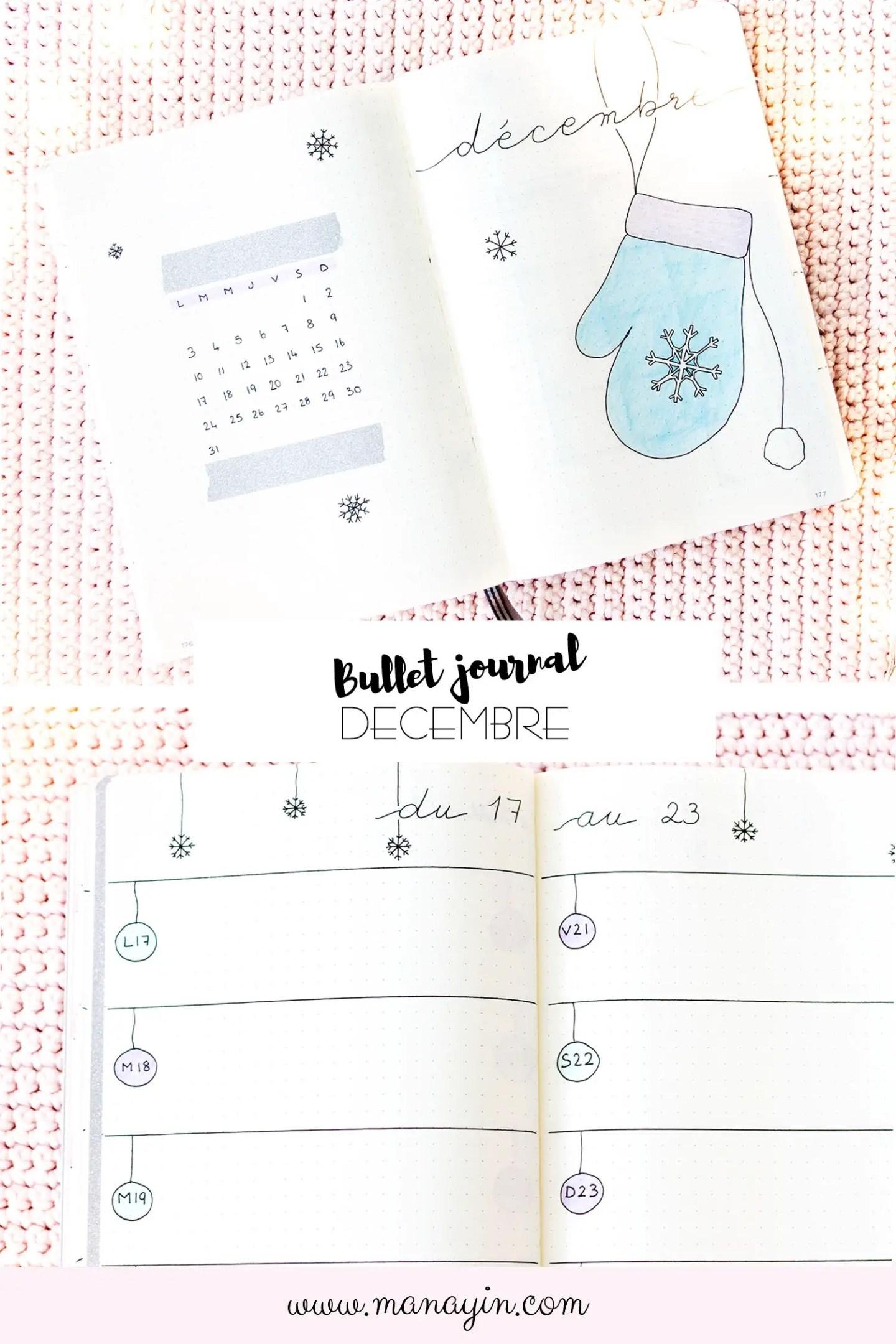 Bullet Journal Décembre