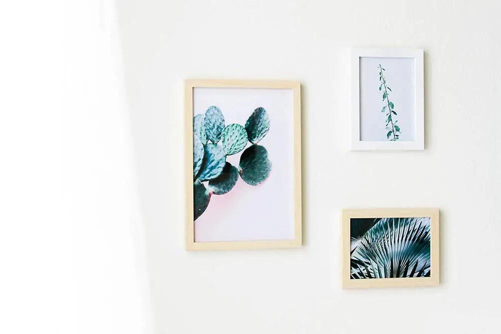 Déco murale végétale : 3 affiches à imprimer gratuites