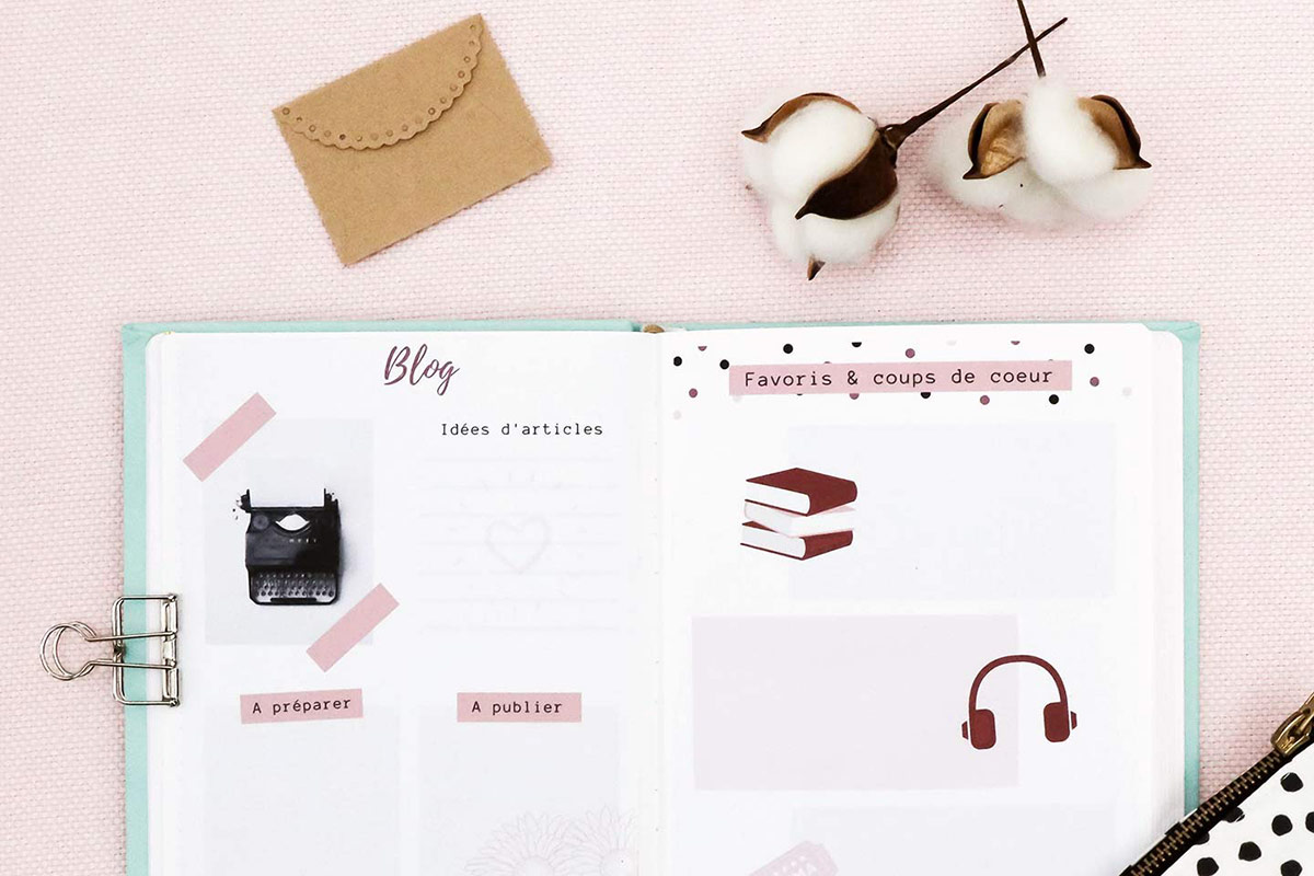 Comment faire son bullet journal avec Canva