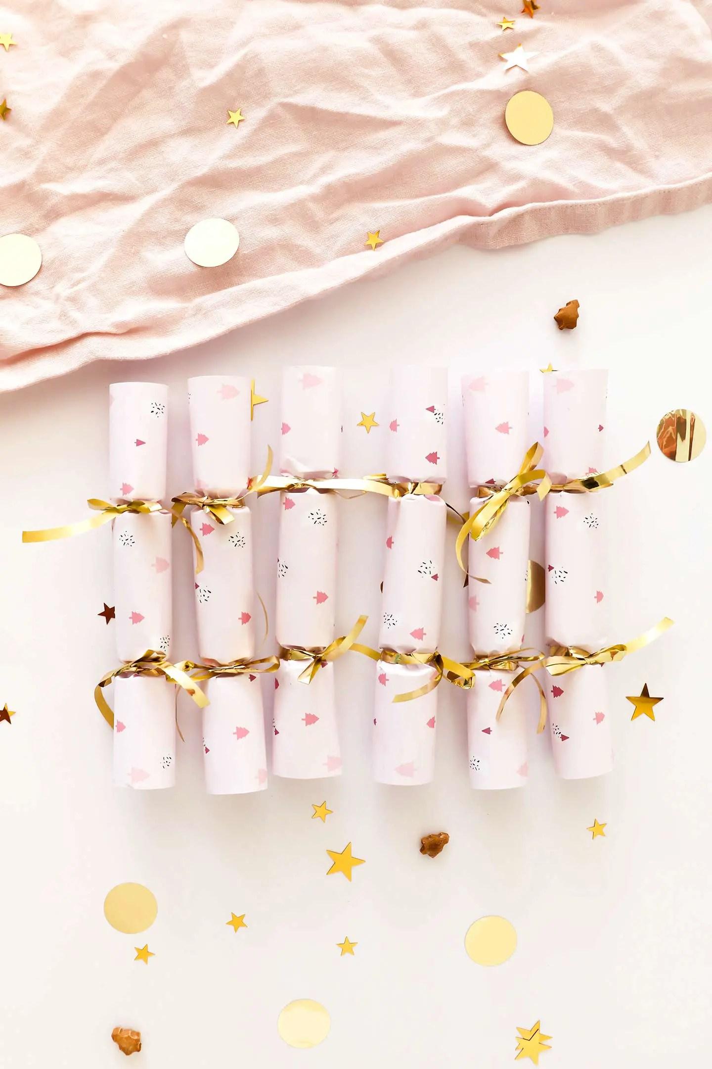 Fabriquer des crackers de Noël
