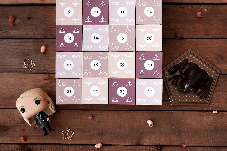 calendrier de l'Avent maison