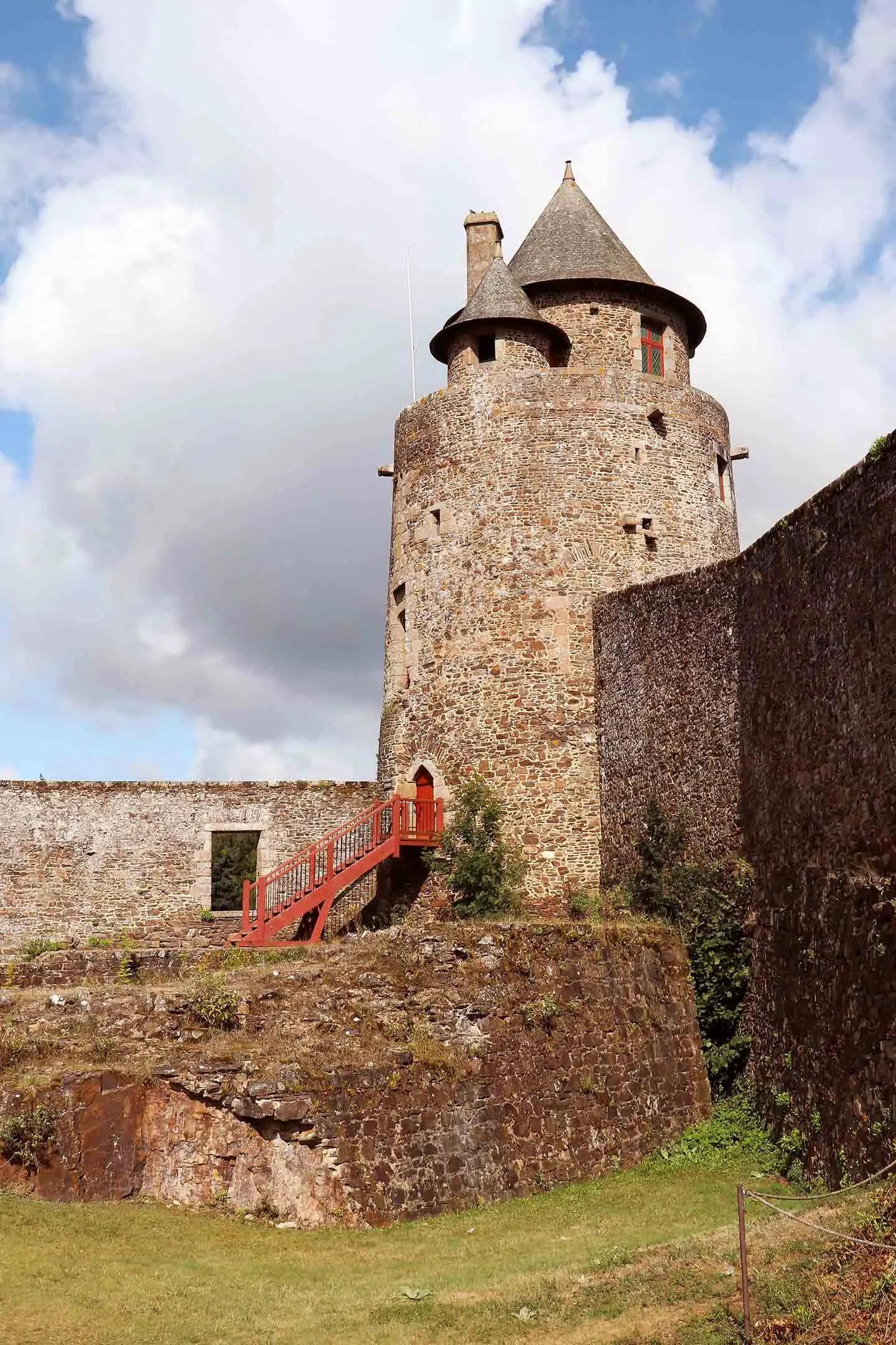 Château de Fougères - Bretagne