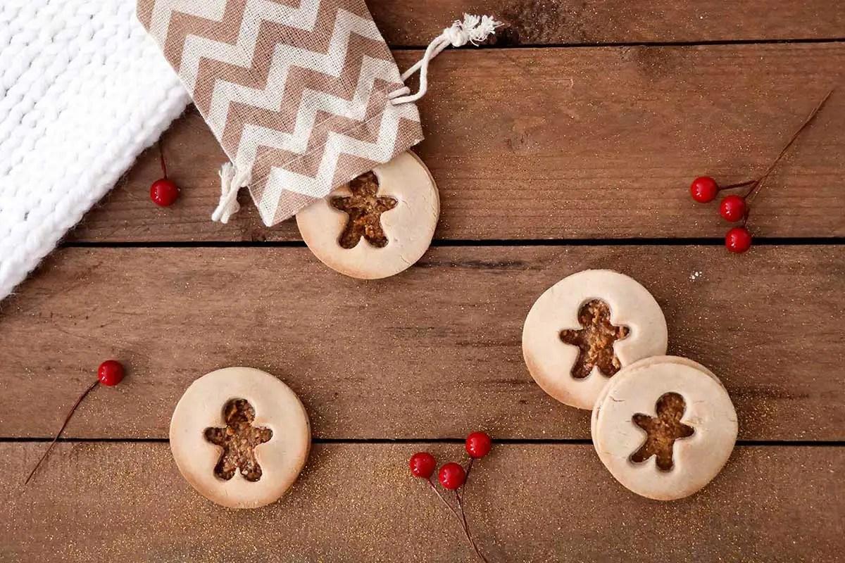 Recette de biscuits de Noël «healthy»