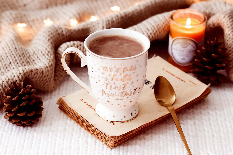 Chocolat chaud sain