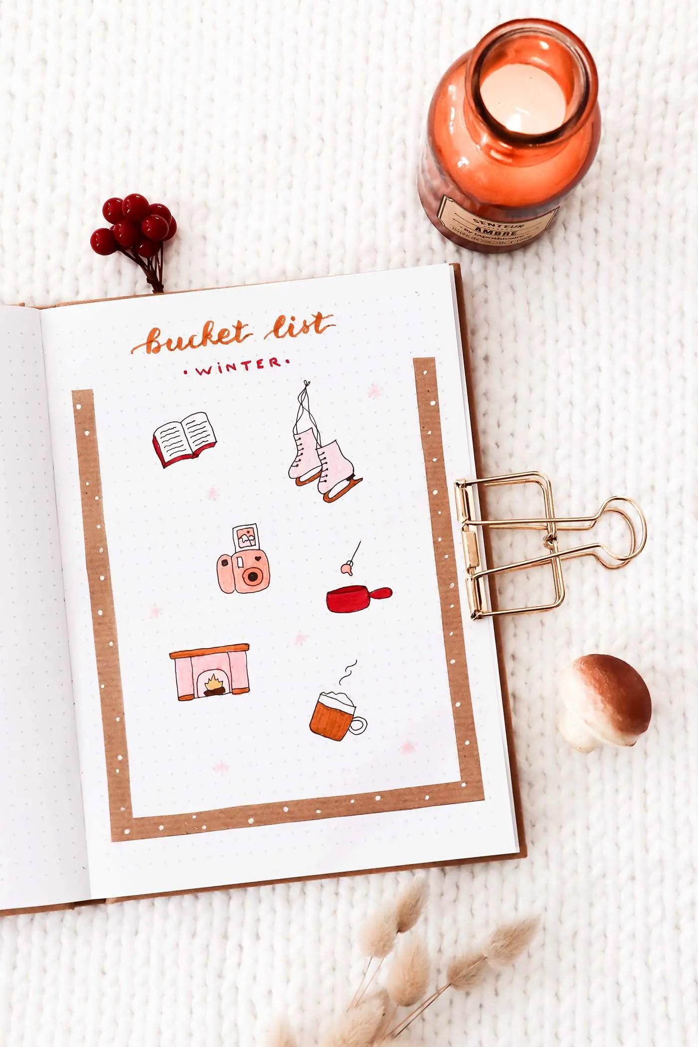 Bucket list hiver