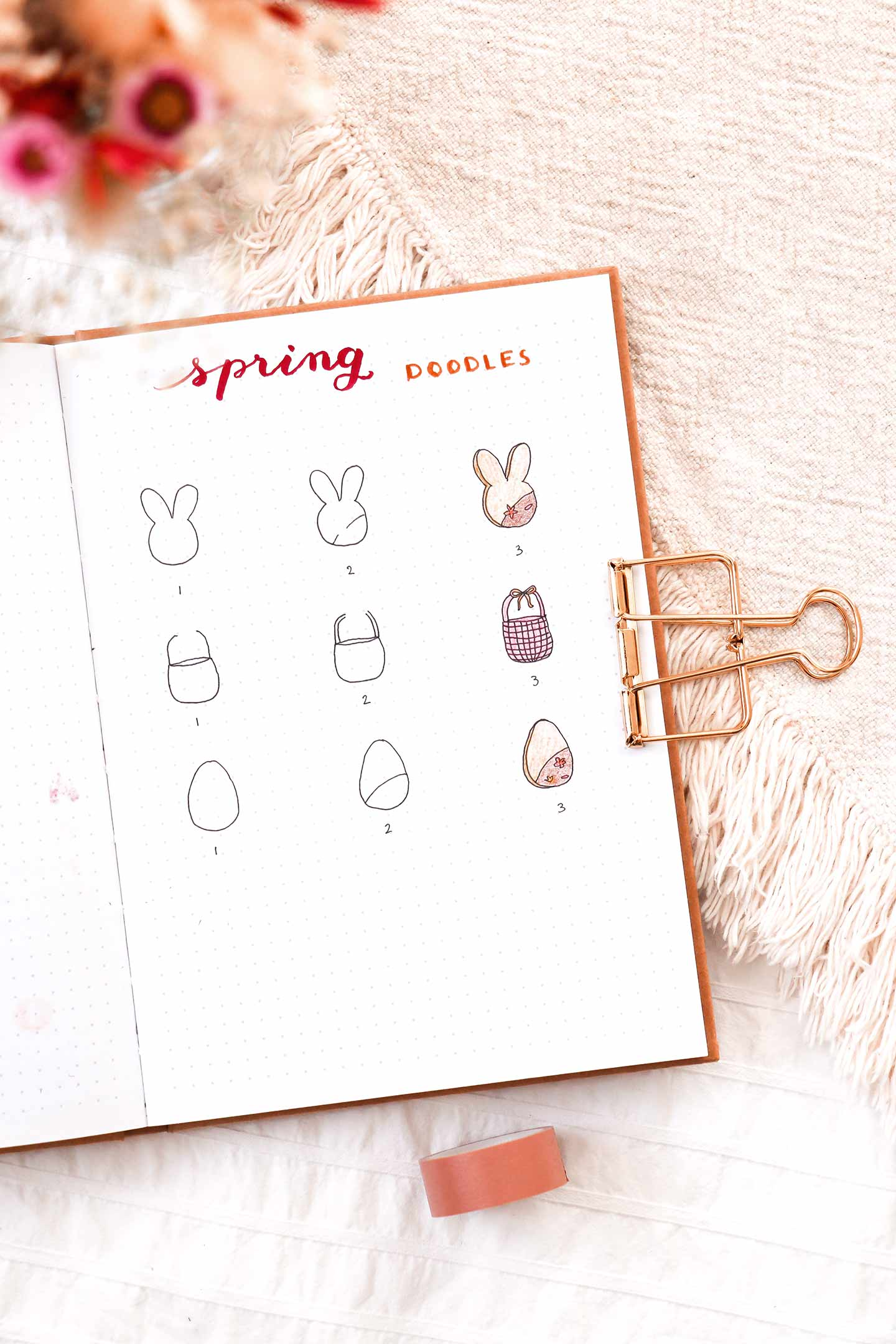 Doodles du mois d'avril