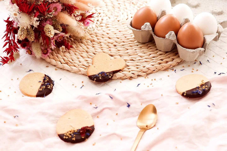 Recette Pâques sablés décorés