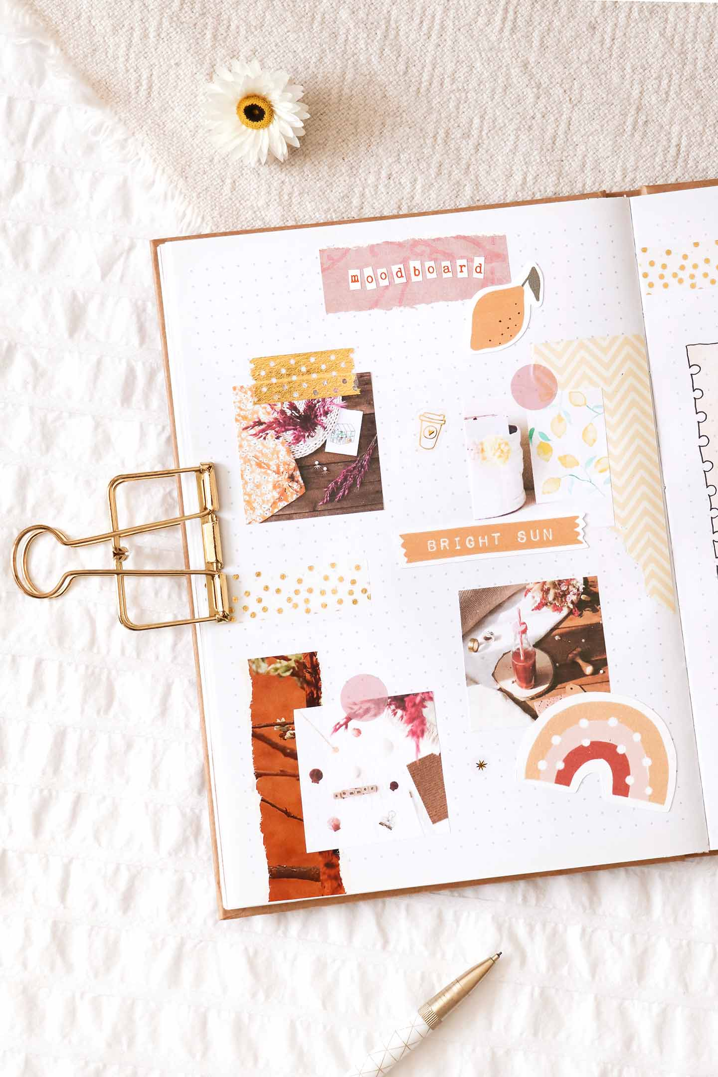 Faire un moodboard bullet journal