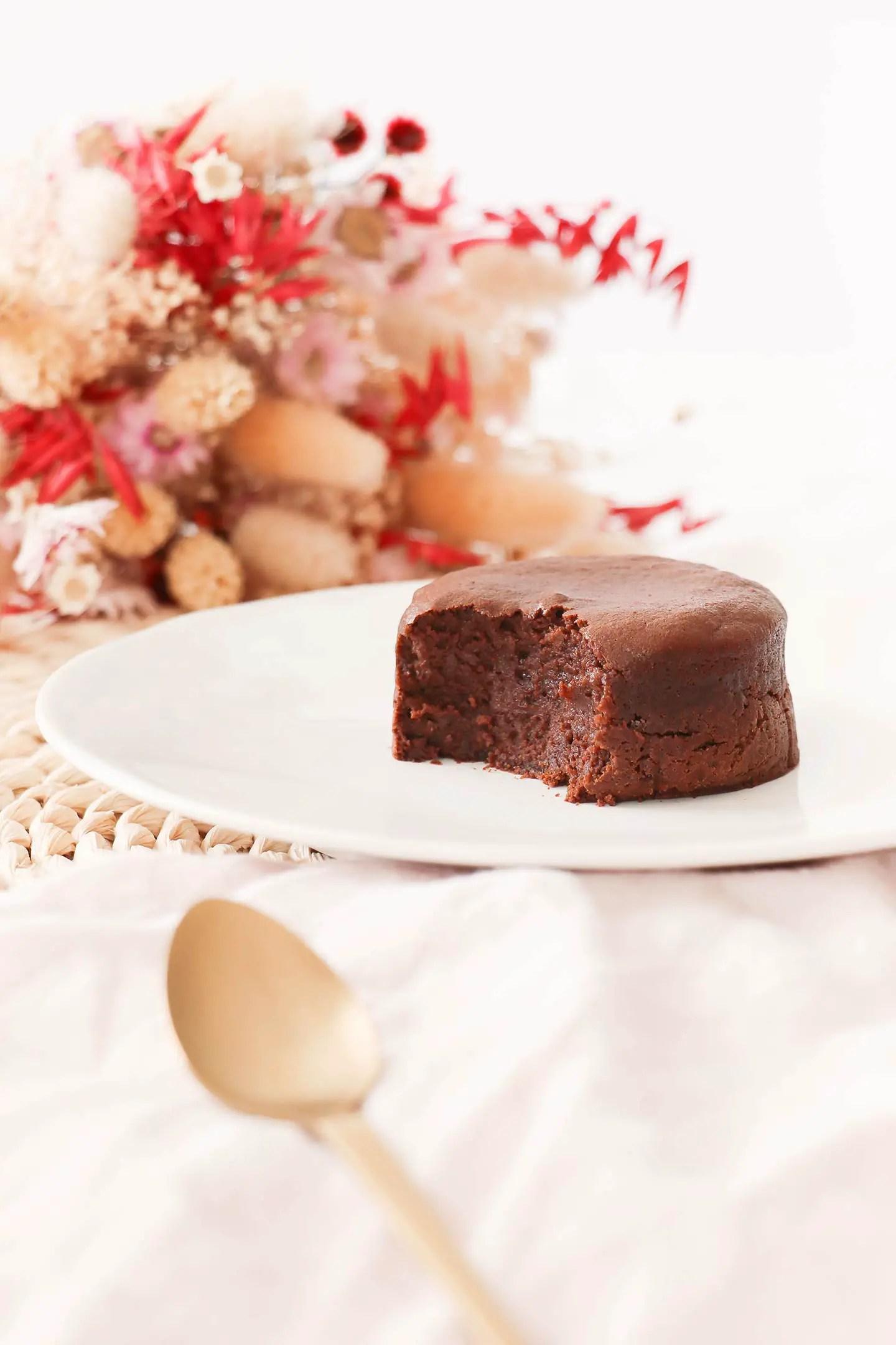 Moelleux au chocolat rapide