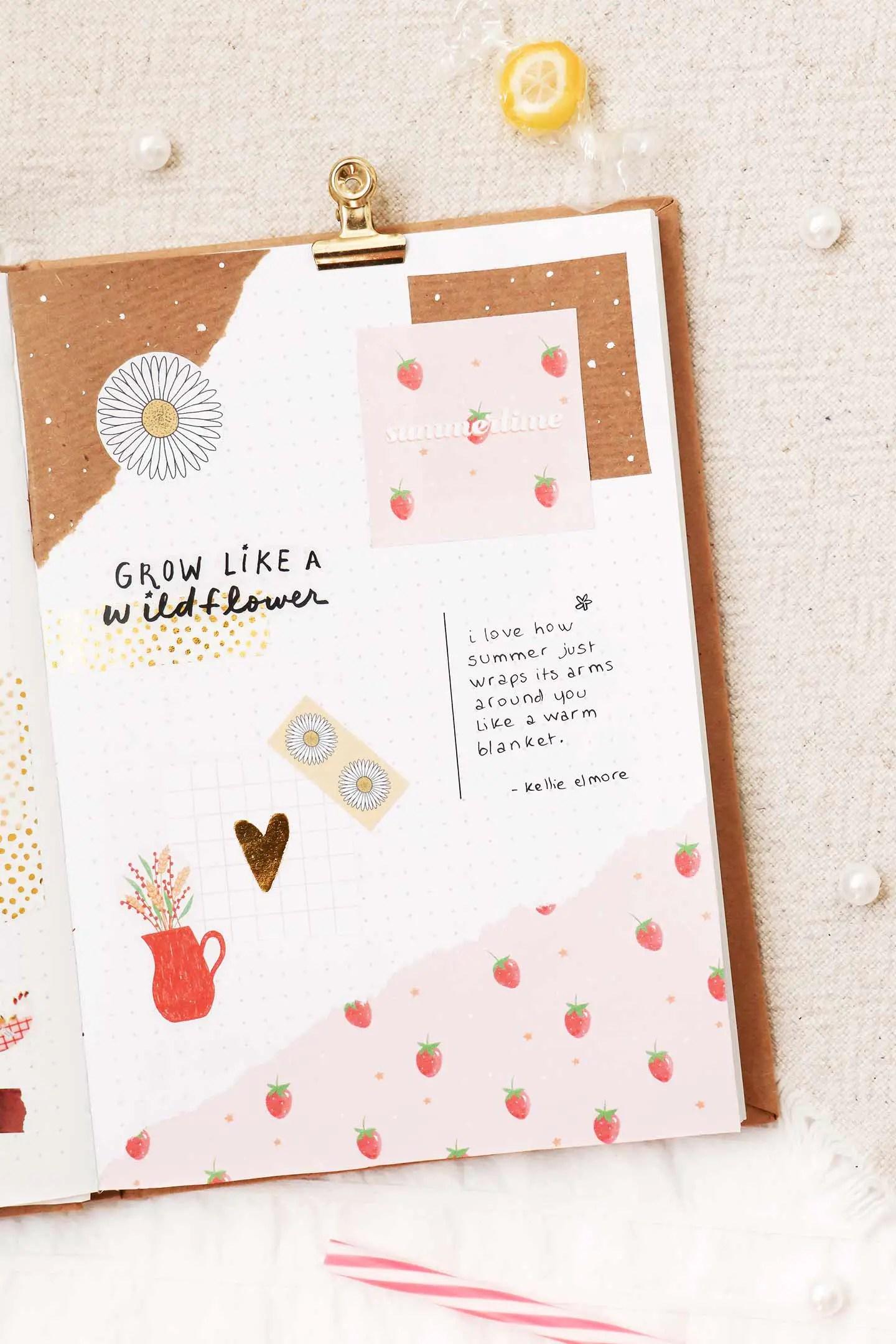 Freebies journaling