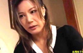 スタイル抜群の高身長義母が娘婿に膣内射精されアヘ顔でビクビク痙攣イキ!藤沢未央