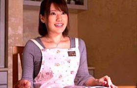 あなた、許して…!訪問営業マンの強引で力強いSEXに身も心も奪われてしまうキレイ妻!本田莉子