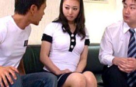 38歳、清純なキレイ妻が3Pエッチで何度もガクガク激痙攣マジイキw福元美砂恵