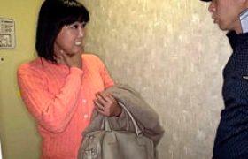 中年女性デリヘル嬢がアソコに発射され失神寸前のヒクヒク痙攣アクメw