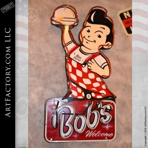 Bob's Big Boy Restaurant Neon Welcome Sign