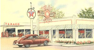 Texaco Station rendering