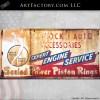 Shrock's auto accessories sign