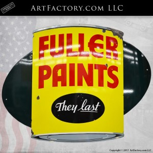 Fuller Paints They Last sign
