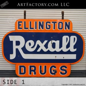 vintage Rexall Drugs sign