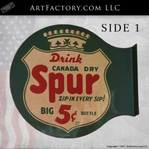 drink Canada Dry flange sign