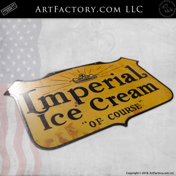 Imperial Ice Cream Sign