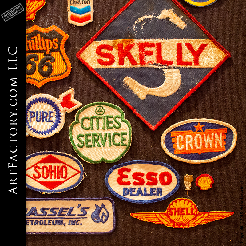 Vintage Marathon Oil /& Gas Co Station Guaranteed Service Patch New NOS 1970s