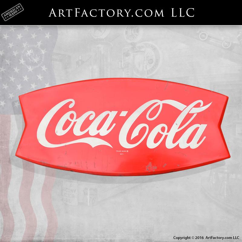 Coca-Cola Fishtail Sign