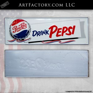 Authentic Drink Pepsi Sign