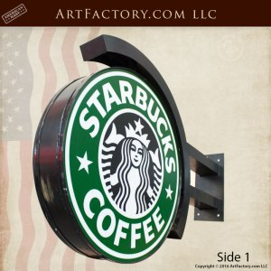 Starbuck lighted sign
