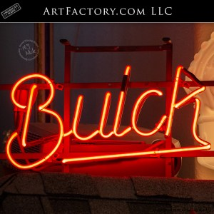 Buick Showroom Rare Collector Original Neon Sign
