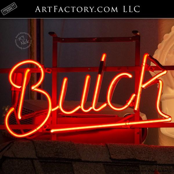 Buick Showroom Rare Collector Original Neon Sign