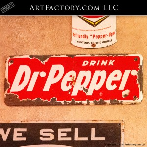 Rare Antique Dr Pepper Sign